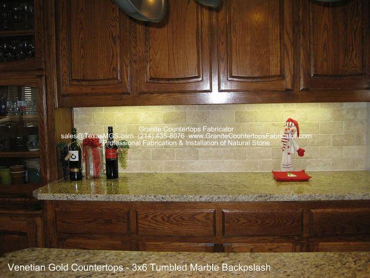 backsplash for venetian gold granite tumbled stone backsplash dallas