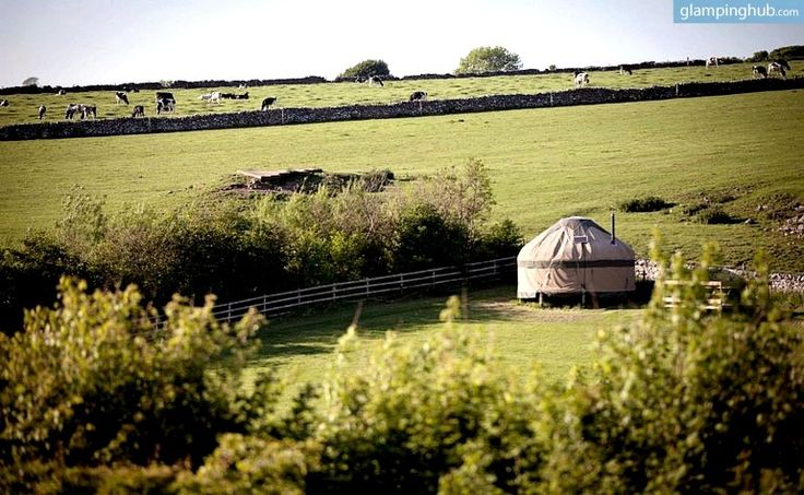 peak district national park | ... / Traditional Yurts Tucked with Farm in Peak District National Park