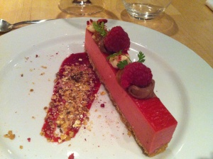 Amazing cheese cake at Søren K restaurant in copenhague, mais dicas no blog planningmytravels.com