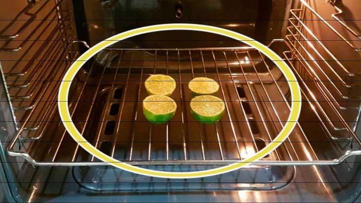 Poné dos limones al horno es increíble lo que pasa te quedarás con la bo...