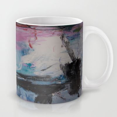 colors of the week - tuesday Mug by Helle Pollas - $15.00