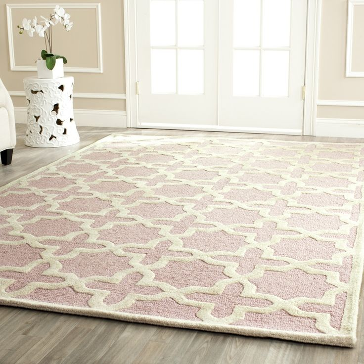 Safavieh Handmade Moroccan Cambridge Light Pink Wool Rug (8u0027 X 10u0027)  . Baby Girl  RoomsGirl ...