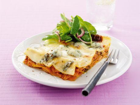 Snabb lasagne med kyckling och spenat | quick chicken and spinach lasagna