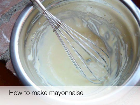 17 best ideas about how to make mayonnaise on pinterest make mayonnaise mayonnaise recipe and - Make best mayonnaise ...