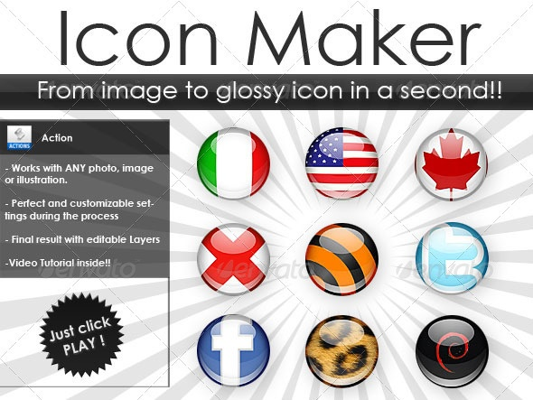 how to make cool icons