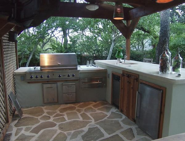 Commercial quality kitchen 40 fantastic outdoor kitchen for Kitchen design 7 x 9