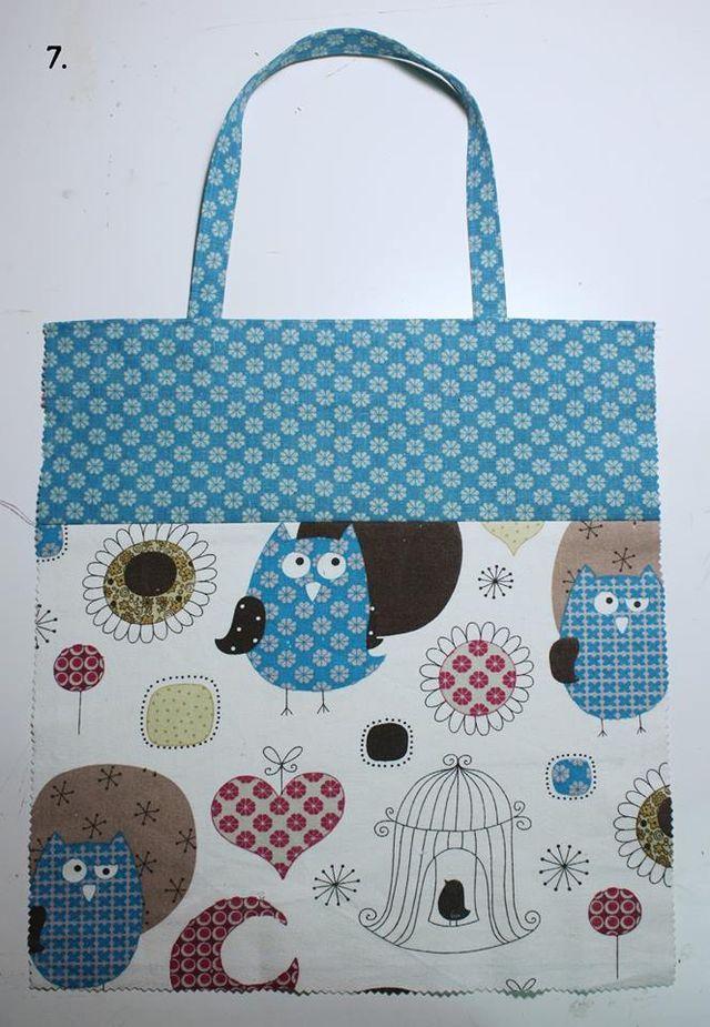 Come fare una shopper piegabile/richiudibile da portare sempre in borsa. La creativa che ha realizzato questa borsa è Cristiane e io me ne sono innamorata…della borsa non di Cristiane, anzi mi sono in