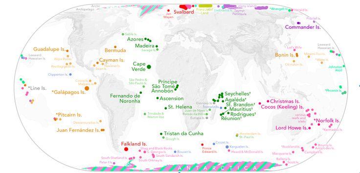¿Qué es realmente descubrir un territorio? A esta pregunta ha respondido a través de un mapa el historiador y cartógrafo Bill Rankin