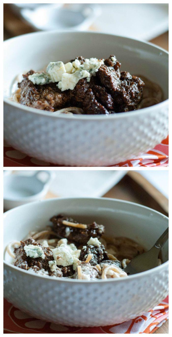 Balsamic and Bleu Steak Alfredo - 3BoysUnprocessed