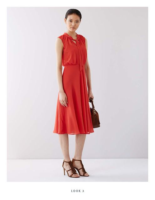 sleeveless tie top  NYC Recessionista: FIRST LOOK: Ann Taylor Fall 2015 Collection