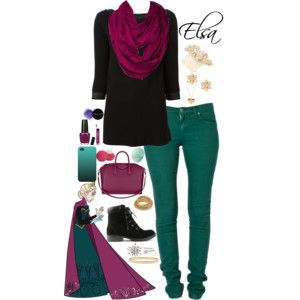 Elsa Disneybound -Honey Lemon