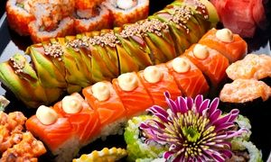 Groupon - $ 26 for Comedy Night Admission for Two with Beers and $10 Worth of Sushi at Sushi Hai ($42 Value) in Denver. Groupon deal price: $26
