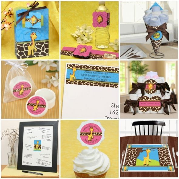 40 Best Giraffe Theme Images On Pinterest Boy Shower Cakes Baby