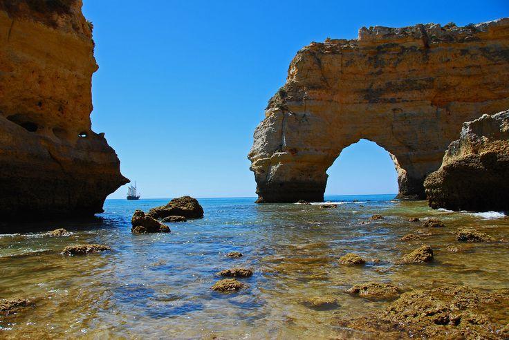 Praia Marinha, Algarve
