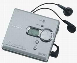 Sony MZ-NE410 High Speed Net MD Walkman Recorder (Silver)