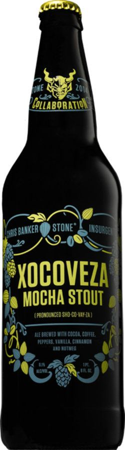 Chris Banker / Insurgente / Stone Xocoveza Mocha Stout (Spice/Herb/Vegetable) -- Smells of spicy notes and first taste of Mexican spices on the front with some nice chocolate notes. A little tobacco on the back end. I could not detect any milk stout portion. Really eclectic beer.