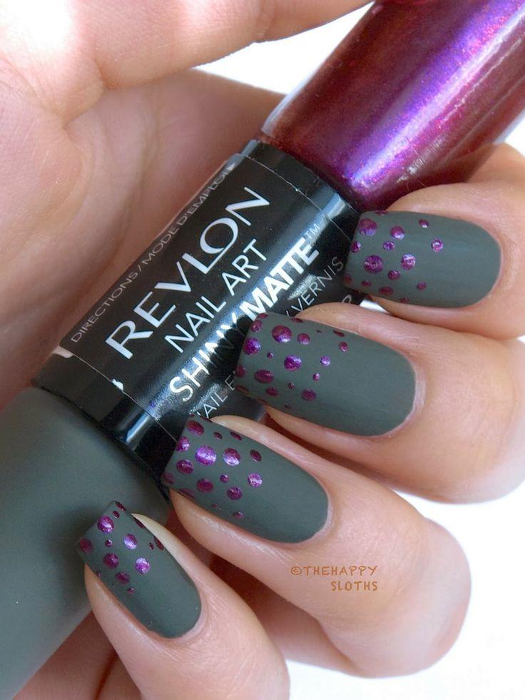328 best Matte Nail Art images on Pinterest
