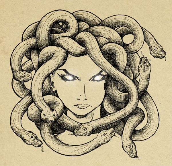 Medusa by ~Sefi on deviantART