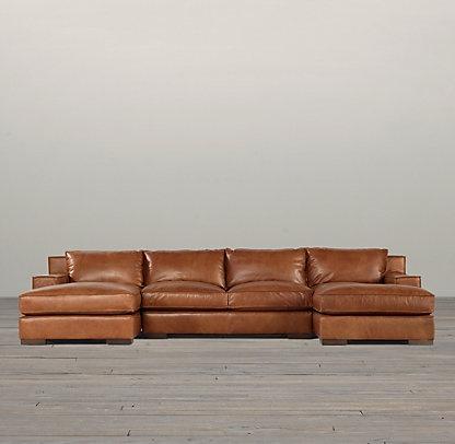 Capri Leather Sofa | Restoration Hardware