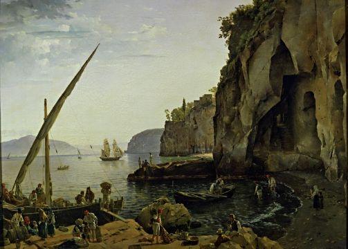 Sylvester Shchedrin Feodosievich - view in Sorrento, 1826.