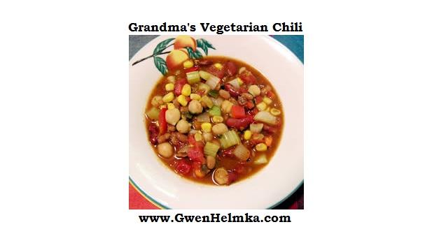 ... Grandma's Vegetarian Chili | Bean Pots | Pinterest | Bean pot, Chili