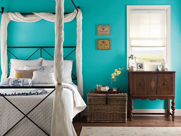 Color of the Month, May 2015: Scuba Blue | Bedroom paint ...