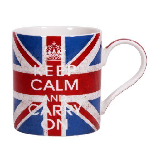 Home Essentials Keep Calm Mug And Carry On Jac