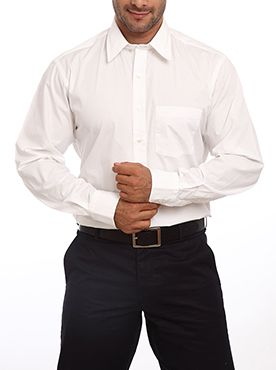 No wardrobe is complete without a plain white shirt. The white Intelligentsia Solid shirt by Color Plus is ideal for giving you an uber cool look. The tailored fit of the shirt gives a crisp and smart look when worn. The full sleeves along with the regular collar pattern enhance the style of the shirt to the T. It offers you with a perfect blend of style and comfort. You can team it up with any colored trousers for everyday wear. Don it on a blazer for your special social occasions or simply…