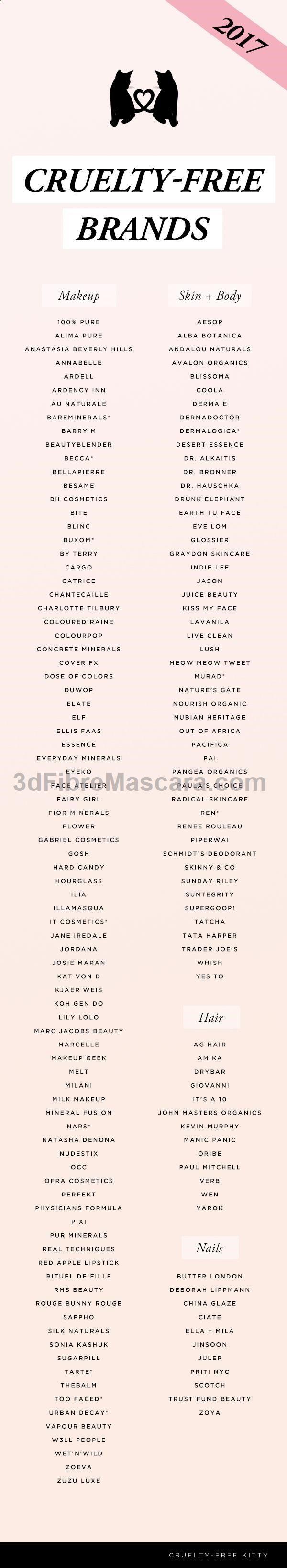 Cruelty Free Beauty Brands