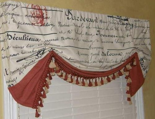 Best French Country Curtains Images On Pinterest Curtains - French country valances