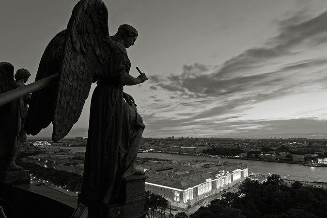 «Петербург глазами ангелов» показали в Сибири