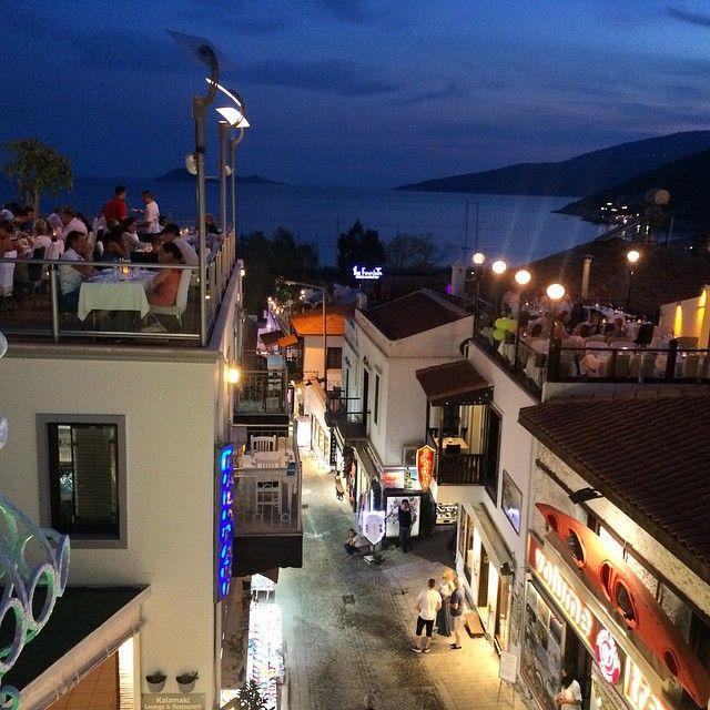 Amazing rooftop dining in #Kalkan