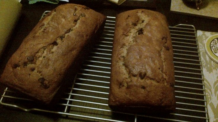 Looking for a use for bananas that are past their prime? Try baking some Banana Chocolate Chip Bread!