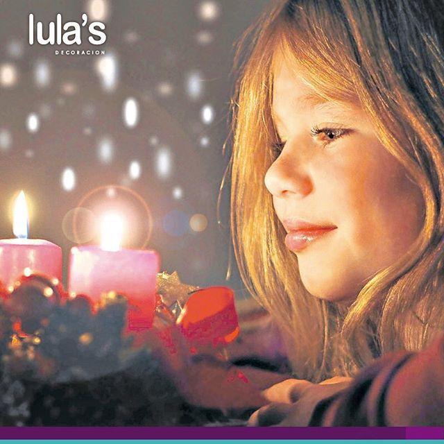Hoy en #LulasDecoración celebramos con entusiasmo el día de las velitas, le damos sentido y significado a nuestra Navidad, iluminando los corazones con optimismo y alegría