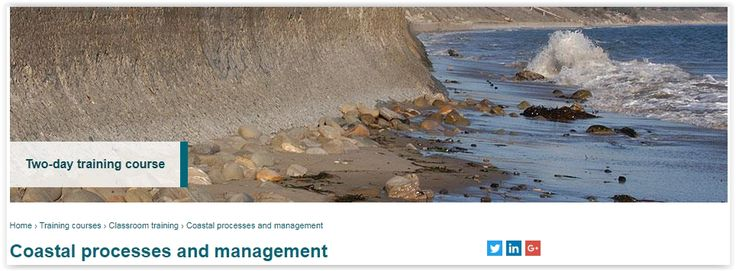#geocongress Coastal Processes and Management. Wallingford, United Kingdom. 01 Oct 2017. The risk of coastal flooding and erosion, both in the UK and overseas, will increase as existing man-made defences (e.g. flood embankments and seawalls) deteriorate and as a result of sea level rise due to climate change...