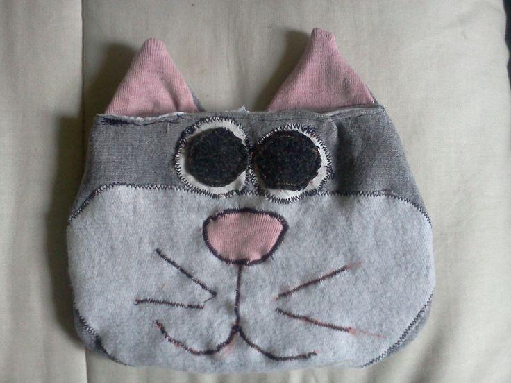 bolso de mano - gato
