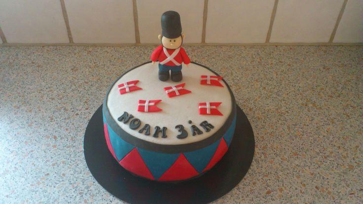 Soldier child cake