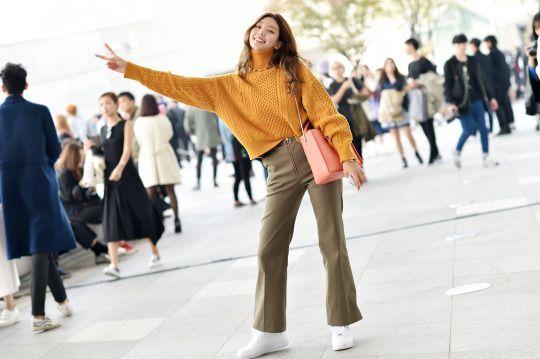 Women's Street Style by #Streetper  #streetstyle #streetfashion #fashion #fashionstyle #seoul #korea #womenswear #womensfashion
