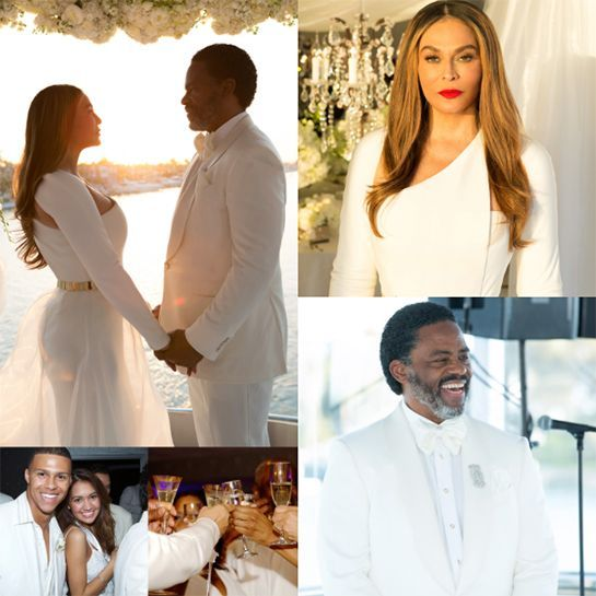 Beyonce's Mom Got Married & It Was Magical  #refinery29  http://www.refinery29.com/2015/04/86275/beyonce-tina-knowles-richard-lawson-blue-ivy-wedding-photographs#slide-10  Beyonce gets it from her mama. Tina is simply flawless.