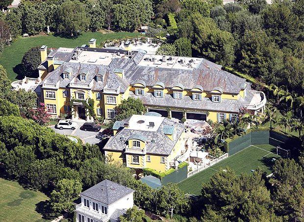Rod Stewarts Beverly Park Mansion Celebrity Habitats
