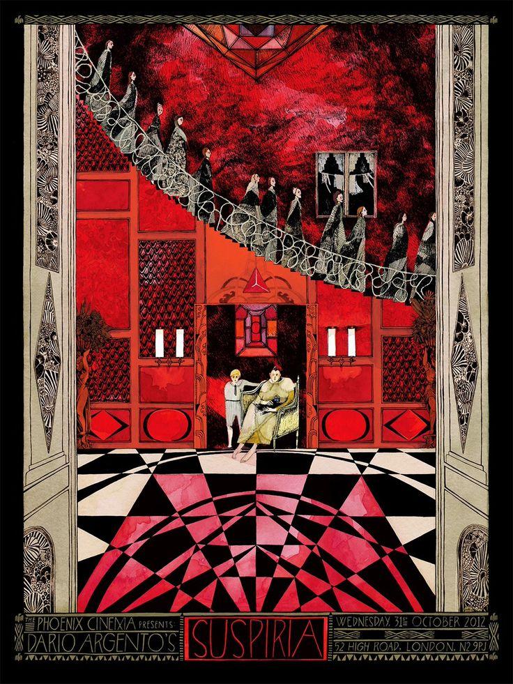 SUSPIRIA (1977) written by Daria Nicolodi directed by Dario Argento