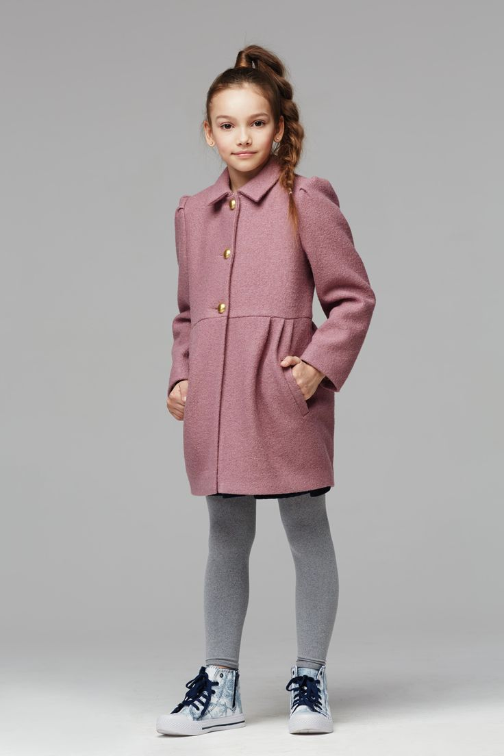 Купить Пальто К014 Пальто для девочек от компании «Смена»