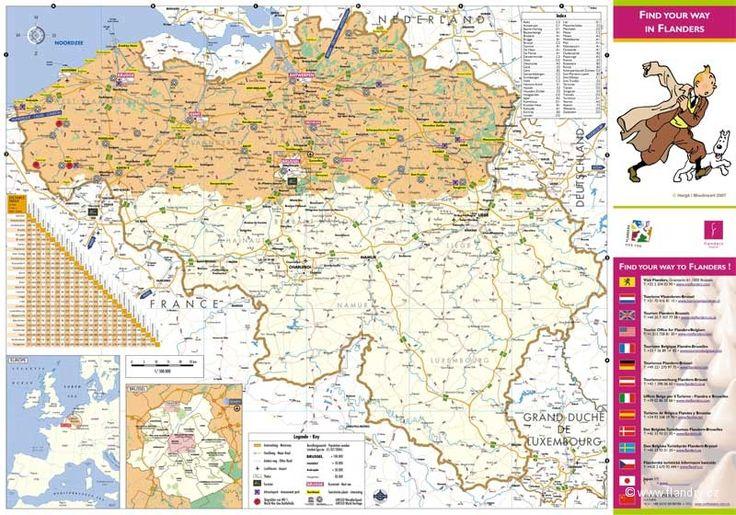 Flandry, Belgie, inspirace, tipy a turistické info