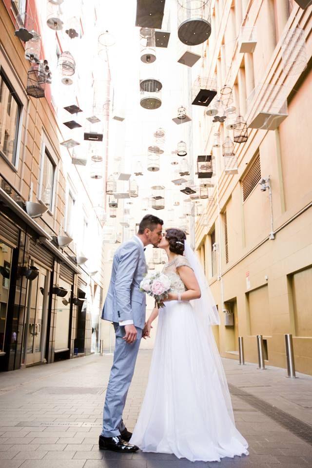 Wedding - Bird's cages, romantic setting in Sydney