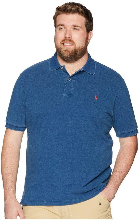 Polo Ralph Lauren Big Tall Weathered Mesh Short Sleeve Knit Men s Clothing bd4cb11e18