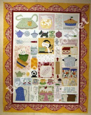 Bee in my bonnet co patterns grandma 39 s kitchen i bought for Kitchen quilting ideas