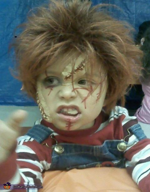Best 25 chucky costume for kids ideas on pinterest chucky chucky from childs play halloween costume contest at costume works solutioingenieria Choice Image