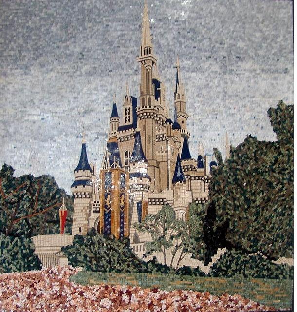 1000 Images About Mosaics Architectural Landscapes On