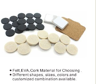 Felt Pads/Adhesive Pads/ Furniture Floor Protectors and more furniture accessories at www.gzprodigy.com.