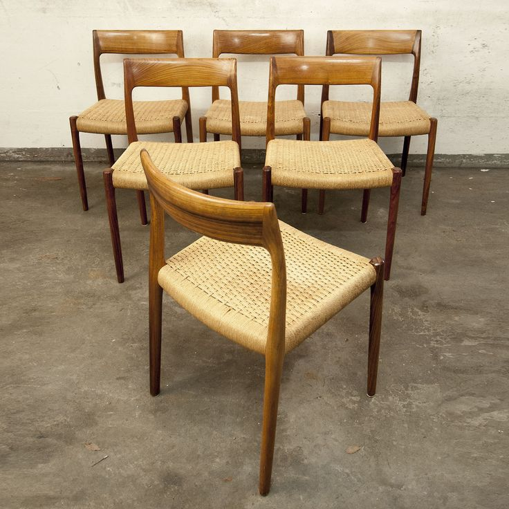 Møller #77 Dining Chairs